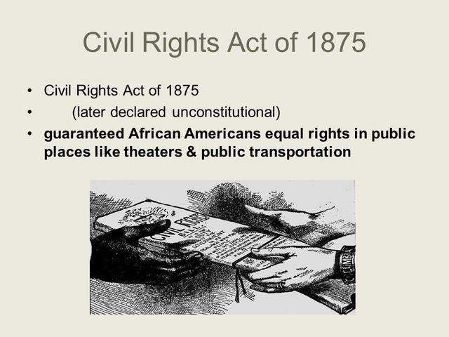 1875 civil rights essay Essay: the civil rights movement there are have been many social movement that have captured my attention but the movement that i was most attracted to was the civil rights movement the reason i am so fascinated by the civil rights movement is because the movement was ultimately about equality and freedom.