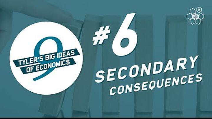 Tyler Cowen's Idea #6: Secondary Consequences
