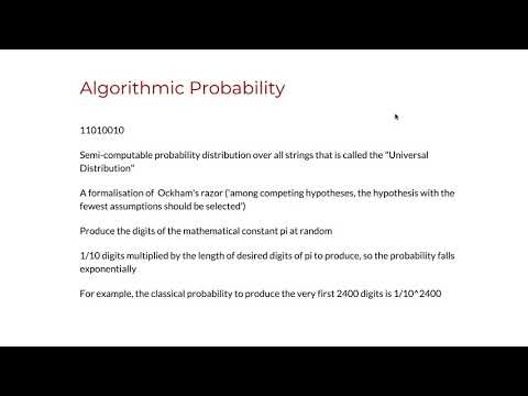 4.10 Algorithmic Probability and the Universal Distribution thumbnail