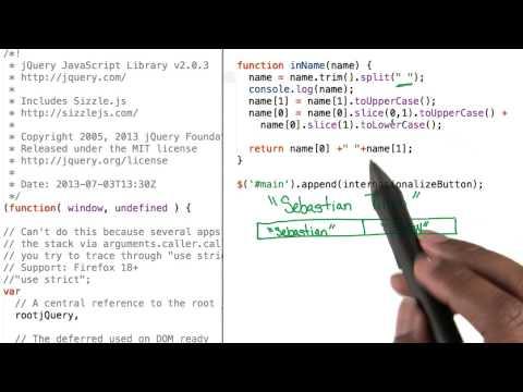 Internationalize Names Solution - JavaScript Basics thumbnail