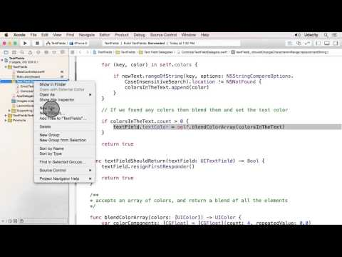 Creating a Random Color Delegate - UIKit Fundamentals thumbnail