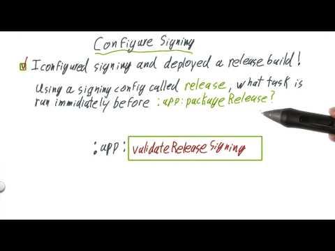 Configure Signing thumbnail