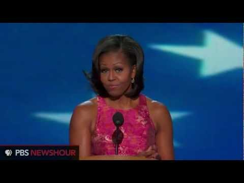 Watch Michelle Obama Speak to the Democratic National Convention thumbnail