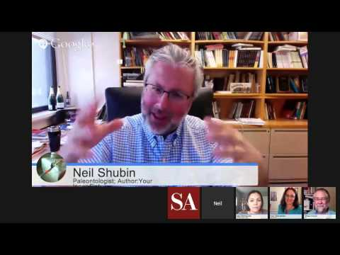 """Get to Know """"Your Inner Fish"""" - with Neil Shubin and Kalliope Monoyios thumbnail"""