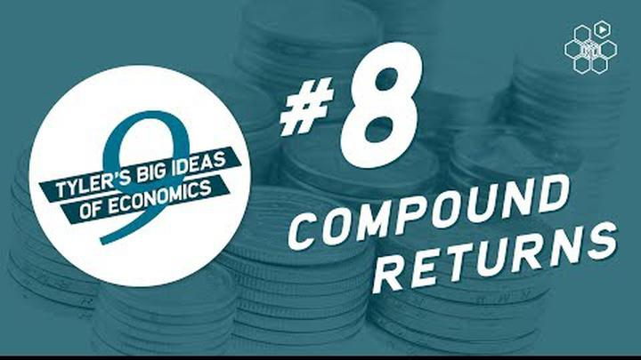 Tyler Cowen's Idea #8: Compound Returns Matter