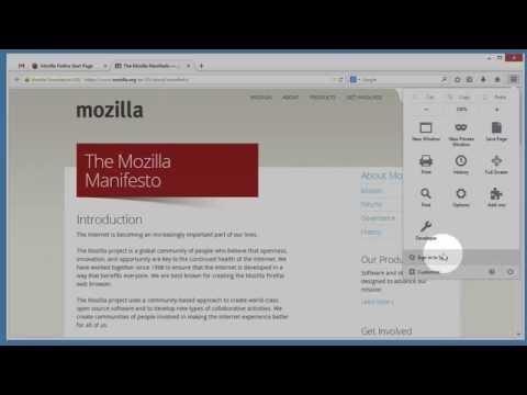 How do I set up Firefox Sync? thumbnail