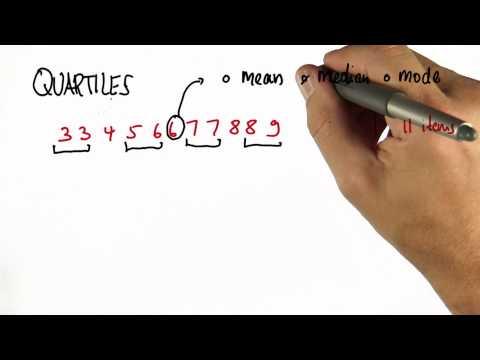Quartiles Solution - Intro to Statistics thumbnail