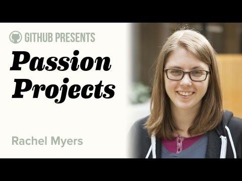 GitHub Presents • Passion Projects (Live) #1 • Rachel Myers (RailsBridge) thumbnail