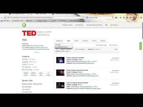 How to add a TEDxTalk to Amara thumbnail