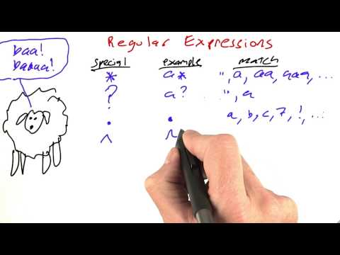 Regular Expressions Review - Part 2 - Design of Computer Programs thumbnail