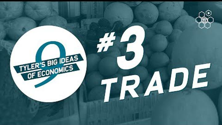 Tyler Cowen's Idea #3: Gains from Trade