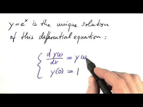 Unique Solution - Differential Equations in Action thumbnail