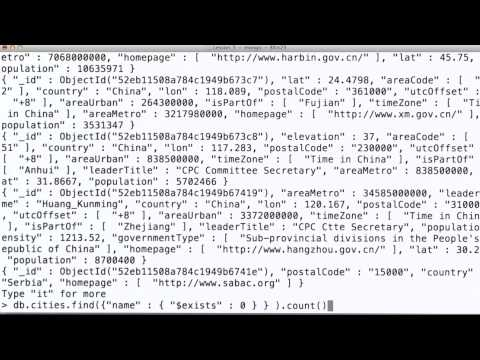 Removing Documents - Data Wranging with MongoDB thumbnail
