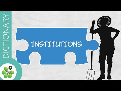 What are Institutions? thumbnail