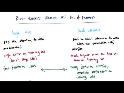 BiasVariance and Features Quiz Solution - Intro to Machine Learning thumbnail
