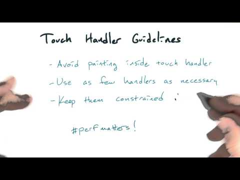 Touch handler guidelines - Mobile Web Development thumbnail