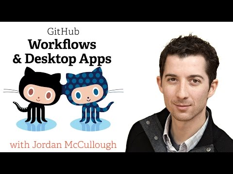 Webcast •  GitHub Use Cases, Workflows & Desktop Apps • July 2014 thumbnail