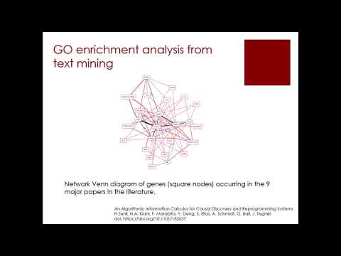 7.6 Foundations of Algorithmic Information Dynamics and Reprogrammability thumbnail