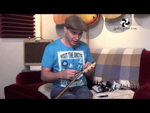How To Change Strings On An Acoustic Guitar (ES-111) thumbnail