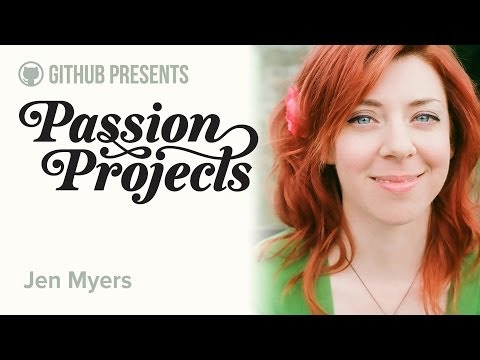 GitHub Presents • Passion Projects (Live) #7 • Jen Myers (How To Not Be An Expert) thumbnail