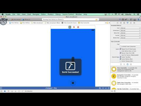 Add a Navigation Controller - Intro to iOS App Development with Swift thumbnail