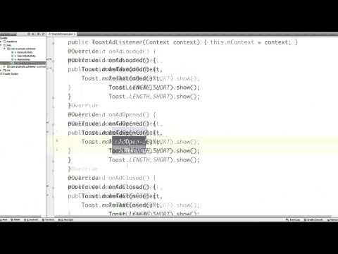 Adding AdListener - Solution thumbnail