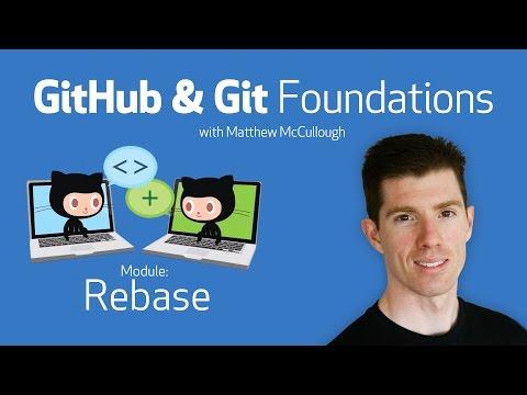 Rebase • GitHub & Git Foundations thumbnail