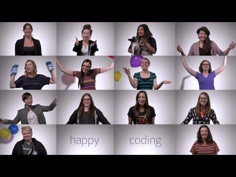 Girls Who Code Graduation Salutation from GitHub thumbnail
