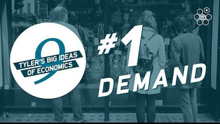 Tyler Cowen's Idea #1: Demand Slopes Down