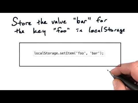 Using local storage - Mobile Web Development thumbnail
