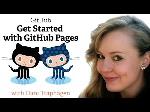 Webcast • Get Started with GitHub Pages • Featuring Dani Traphagen thumbnail