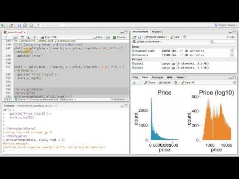 The Demand of Diamonds - Data Analysis with R thumbnail