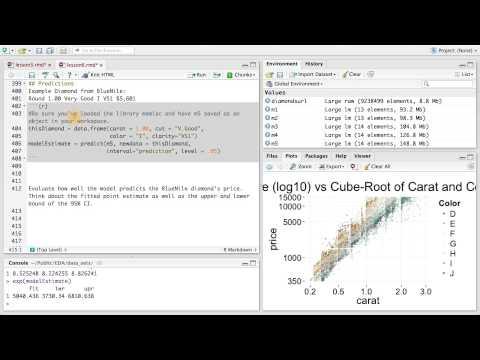 Predictions - Data Analysis with R thumbnail