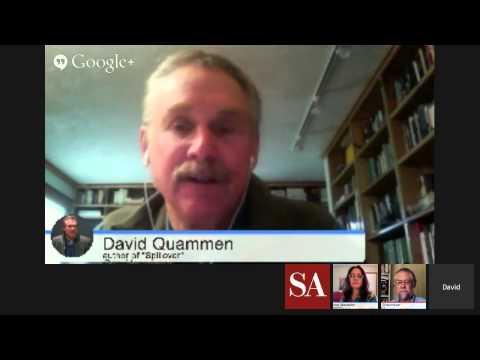 """Spillover: The Next Human Pandemic"" - Hangout with Author David Quammen thumbnail"