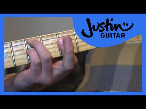 I VI II V Chord Variation Exercise (Jazz Guitar Lesson JA-031) How to play thumbnail