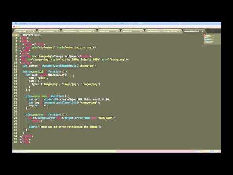 App Basics for FirefoxOS - Web Activities thumbnail
