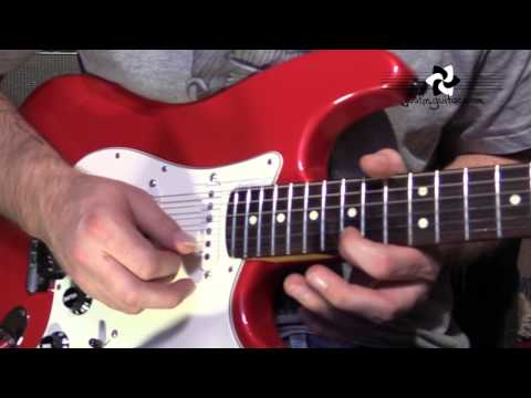 Mary Had A Little Lamb SOLO - Stevie Ray Vaughan (Guitar Lesson CS-004) SRV Blues Texas thumbnail