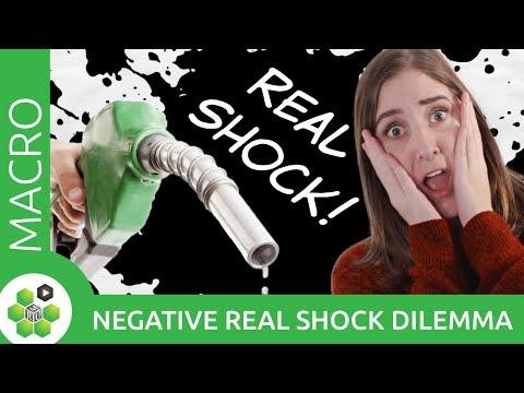 Monetary Policy: The Negative Real Shock Dilemma thumbnail
