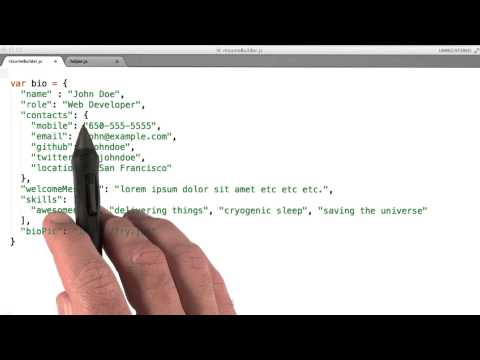 Biography Solution - JavaScript Basics thumbnail