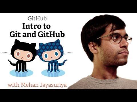 Webcast • Introduction to Git and GitHub • Featuring Mehan Jayasuriya thumbnail