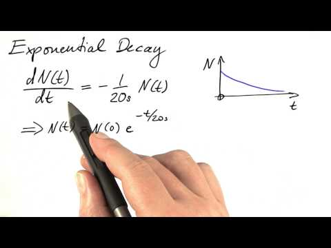 Exponential Decay - Differential Equations in Action thumbnail