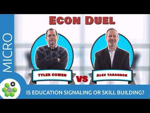 Econ Duel: Is Education Signaling or Skill Building? thumbnail