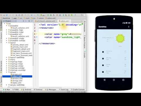 Activated List Item Style - Developing Android Apps thumbnail