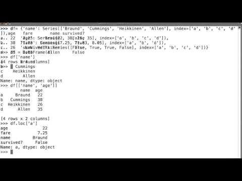 Dataframe Columns - Intro to Data Science thumbnail