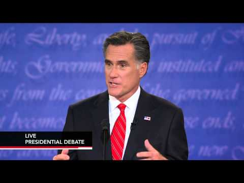 Romney and Obama Focus on Policy Details in First Debate thumbnail