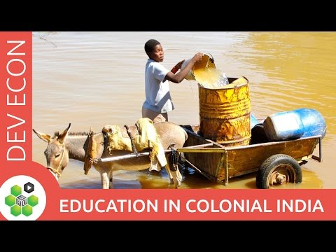 Education in colonial India thumbnail