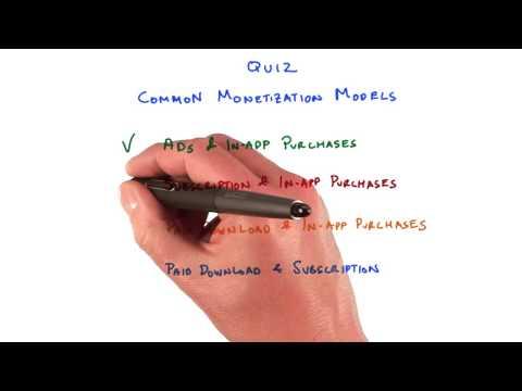 Common Monetization Models Solution thumbnail