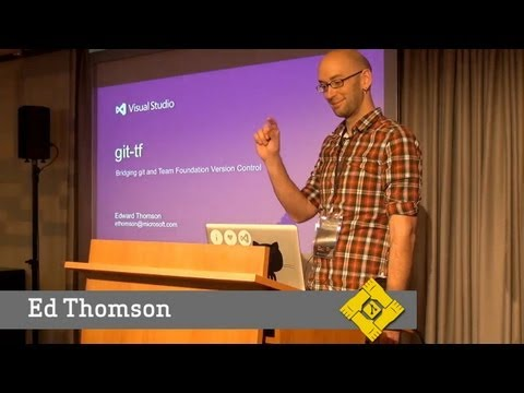 Git Merge • Git in Team Foundation (Ed Thomson) thumbnail