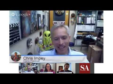"""The Mars MAVEN Mission and """"Dreams of Other Worlds"""" author Chris Impey - SA Hangout #7 thumbnail"""