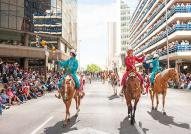 Parade at the Calgary Stampede